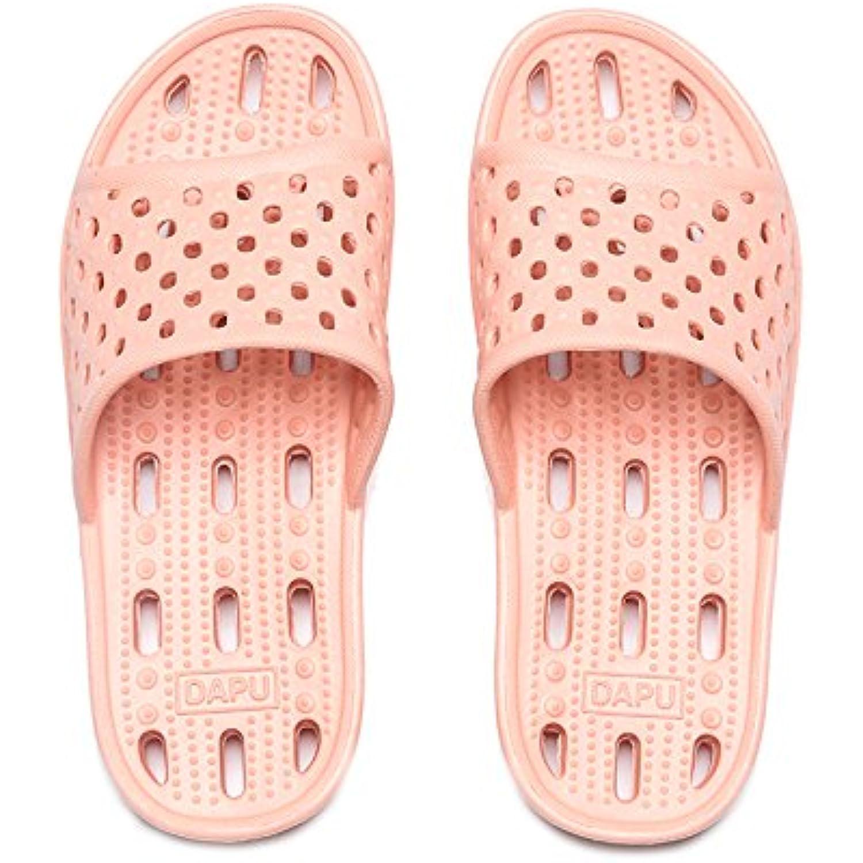fankou Les fuites D'eau Fast Dry Chaussons Chaussures Glisser de Bains Cool Faites Glisser Chaussures et Glisser D'une épaisseur... - B07CSVSYTD - 6f8691