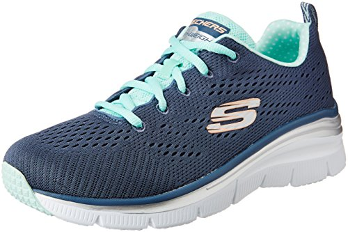 Skechers - Fashion Fit Statement Piece, Scarpe da ginnastica Donna Argentato (SLT)