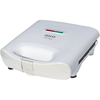 Inalsa Easy Toast 750-Watt 4 Slice Sandwich Toaster (Spray Painted White)