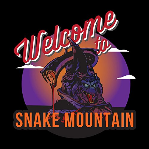 Welcome To Snake Mountain He Man Masters Of The Universe Men's Vest Black