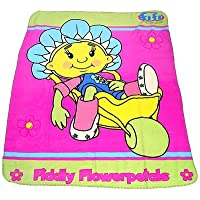 Fifi Wheelbarrow Fleece Blanket