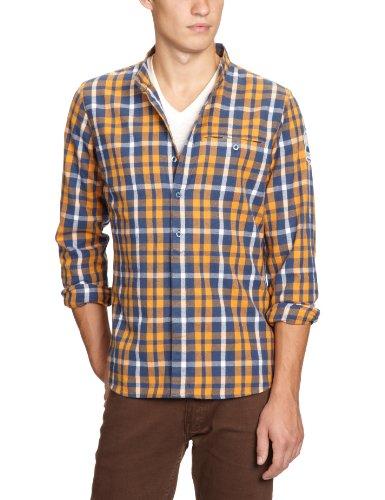 Julianm maloja chemise pour homme Orange - curry
