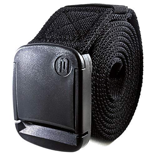 939bd883ac10b9 BETTA 3,8cm breiter elastischer Stretch-Gürtel für Herren mit ultra-starker,