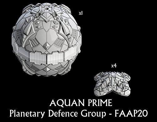 Aquan Prime Planetary Defence Group by Firestorm Armada