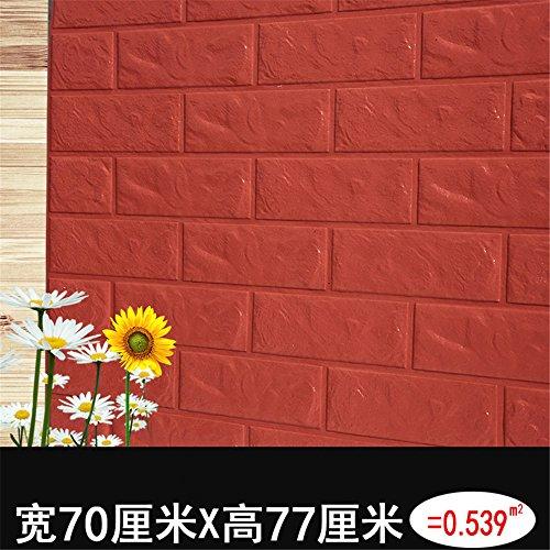 Weihnachten/Halloween/Dekoration/Aufkleber Self-Adhesive/TV/background Wall/Tile/Wallpaper/3D/Wand/Wohnzimmer/Wallpapers/Aufkleber/Schlafzimmer/Dekoration/Aufkleber, orange rot (Orange Halloween Wallpaper)