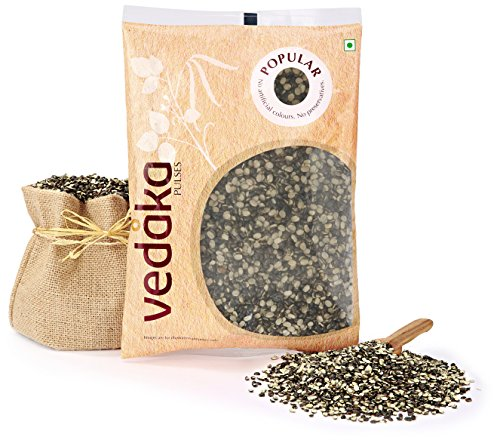Amazon Brand – Vedaka Popular Black Urad Split, 500g