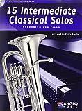 15 Intermediate Classical Solos. Euphonium and Piano