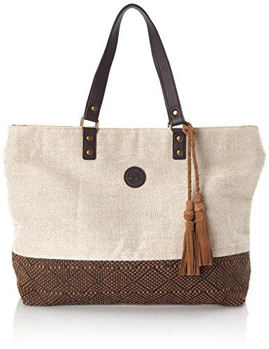 Timberland - Shopping Bag, Shoppers y bolsos de hombro Mujer, Marrón (Chocolate Brown), 17x39x42 cm...