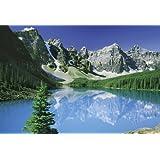 500 compact piece Moraine Lake (Banff National Park) 35-17 (japan import) by Yanoman