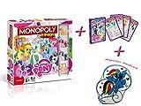 Monopoly Junior My little Pony + magisches Handtuch Brettspiel Gesellschaftsspiel NEU