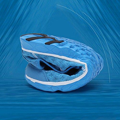 SAGUARO Uomo Donna Scarpe da Immersione Scarpe da Scoglio per Immersione Nuotare Spiaggia Surf Yoga Sport Acquatico Grigio