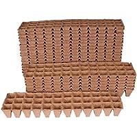 108macetas de rectangular 4x 4cm, biolog. biodegradable. 92004