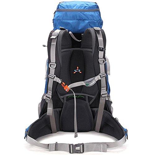 YYY-All'aperto alpinismo borsa uomini di zaino campeggio outdoor L 50 e le donne che viaggiano spalle borse campeggio zaino , green Blue