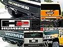 Außen Heckstoßstange Letters Emblem Einsätze Eindringprüfsysteme Für 2003 2004 2005 Hummer H2 H2 H 2