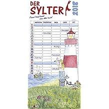 Der Sylter 2018: Familienplaner für bis zu 5 Familienmitglieder.
