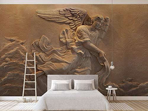 Gewohnheit Irgendeine Größe Europäische 3D Geprägte Mythische Figur Engel Hintergrund Wandaufkleber Malerei Wohnkultur Tapete Wandbild (Chelsea-figuren)