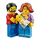 Lego Fun in the park Family Mum, Dad and baby minifigure