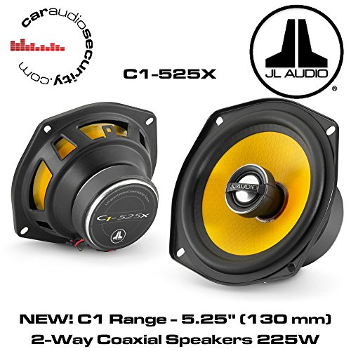 JL Audio C1-525X - 13cm Koax Lautsprecher (Lautsprecher Auto Jl)