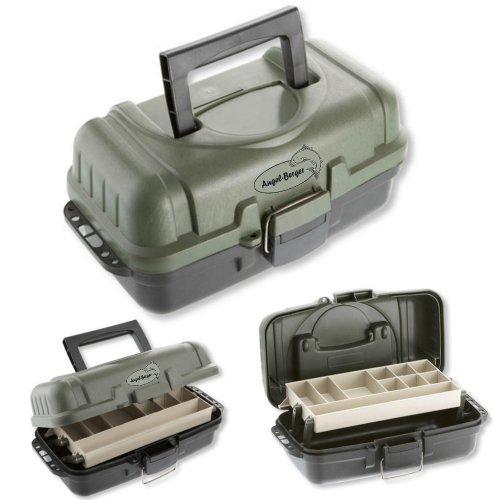 Deluxe Gerätekoffer Angelkoffer Angeltasche verschiedene Größen (1 ladig)