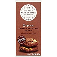 Honeyrose Triples Galletas De Chocolate 115G (Paquete de 4)