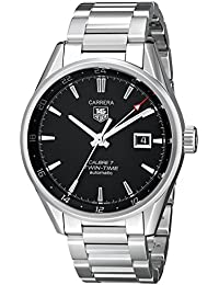 TAG Heuer Men's WAR2010.BA0723 Carrera Analog Display Swiss Automatic Silver Watch
