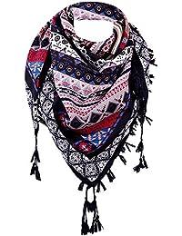67e080a95d4b MRULIC Echarpes foulards femme Treillis Écharpe Automne Hiver Mode Couleur  Chaude Couture Longue Laine À Carreaux