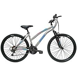"""Discovery DP072 - Bicicleta Montaña Mountainbike 26"""" B.T.T. Con amortiguación. Cambio fricción, 18 Velocidades"""