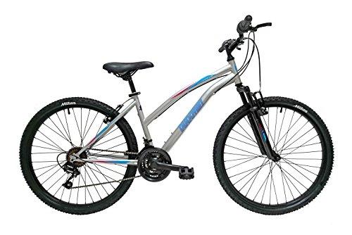 Discovery DP072 - Bicicleta Montaña Mountainbike 26' B.T.T. Con amortiguación. Cambio fricción, 18 Velocidades