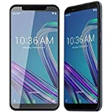 MobiExpress 9H Hardness Full Edge to Edge Anti Scratch Dust Proof Tempered Glass for ASUS ZenFone Max Pro M1