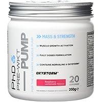 PhD Nutrition Pre-Workout Supplement Pump, Raspberry Lemonade
