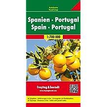 Freytag Berndt Autokarten, Spanien-Portugal - Maßstab 1:700.000 (freytag & berndt Auto + Freizeitkarten)