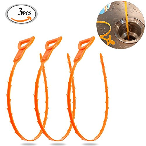 mlmsy-3-pack-20-inches-hair-drain-clog-remover-drain-flexible-drain-hook-slow-drain-relief-snake-cle