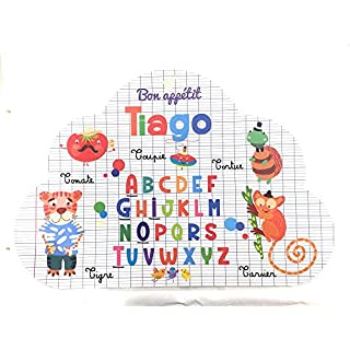 Autres Others Read and Tell Placemat with Cloud Design (Front & Reverse) 29 x 41 cm