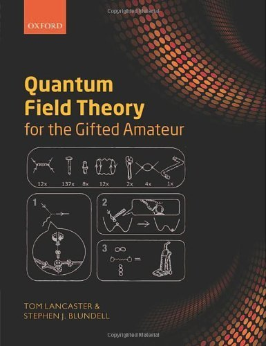 Quantum Field Theory for the Gifted Amateur by Lancaster, Tom, Blundell, Stephen J. (2014) Paperback