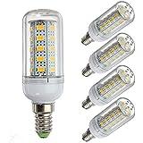 LLP-LED Paquete de 5 luces LED 12 voltios 6 vatios Bombilla LED G9/