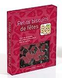 """Coffret Cuisine """"Petits biscuits de fêtes"""" (Livre 60 recettes + 6 emporte-pièces offerts)..."""