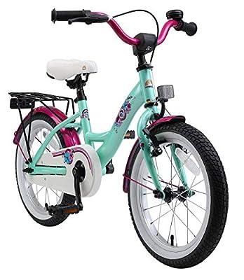 BIKESTAR Kinderfahrrad für Mädchen ab 4-5 Jahre | 16 Zoll Kinderrad Classic | Fahrrad für Kinder
