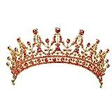 Corona de Boda Beisoug Boda Nupcial Diamante Cristal Diadema Princesa Peine del Pelo Tiara Bandas Corona