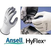 Ansell Hyflex 11-800, guanti con palmo in Nitrile, 9/L