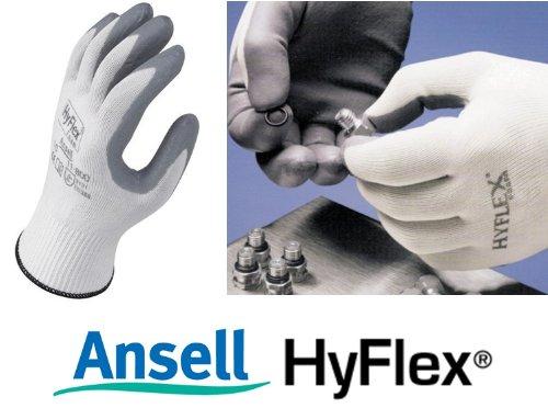 ANSELL HYFLEX 11-800-GUANTI CON PALMO IN GOMMA, 8 M