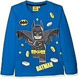 LEGO Batman Jungen T-Shirt 161392, Bleu (Bleu), 8 Jahre (Hersteller Größe: 8 Jahres)