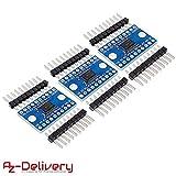AZDelivery ????? 3 x TXS0108E Logic Level Converter 8 Kanal für Arduino und Raspberry Pi (3X Logic Level Converter)