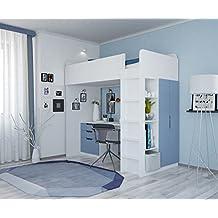 letto a soppalco. Black Bedroom Furniture Sets. Home Design Ideas