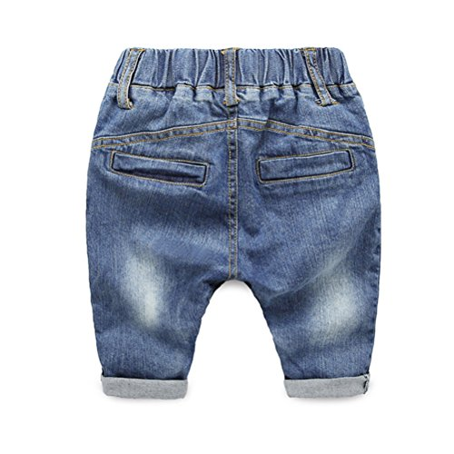 Zhhlinyuan Fashion Multi-color Infant Toddlers Kids Denim Style Pants Baby Boys Denim Jeans -