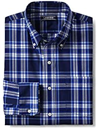 855e286163 Lands  End Men s Traditional Fit No Iron Twill Shirt