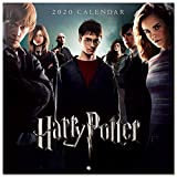 Erik® - Calendario 2020 da muro per casa o ufficio, 30x30 cm, include un poster in regalo - Harry Potter