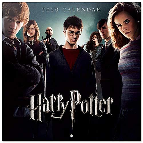 51m6L6Ip47L - ERIK - Calendario de pared 2020 Harry Potter, 30 x 30 cm (incluye póster de regalo)