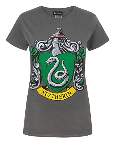 Official Harry Potter Slytherin Women\'s T-Shirt (XL)