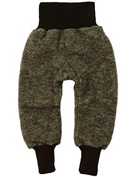 Cosilana Baby Hose mit Bund aus weichem Wollfleece, 100% Schurwolle kbT