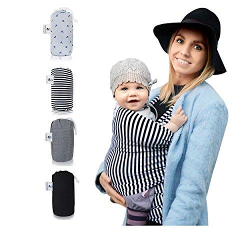 Babytragetuch-Fastique-Kids-Modernes-Tragetuch-fr-Frh-Neugeborene-Kleinkinder-Baby-Wrap-Carrier-weich-elastisch-Ideal-als-Geschenk-zur-Geburt-Gratisversand